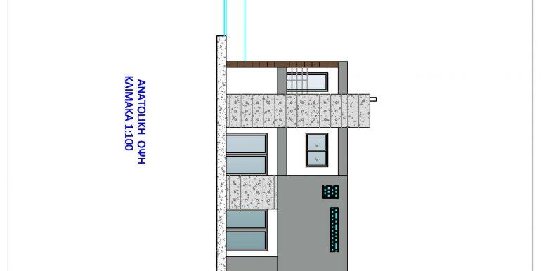 HOUSE EAST ELEVATION