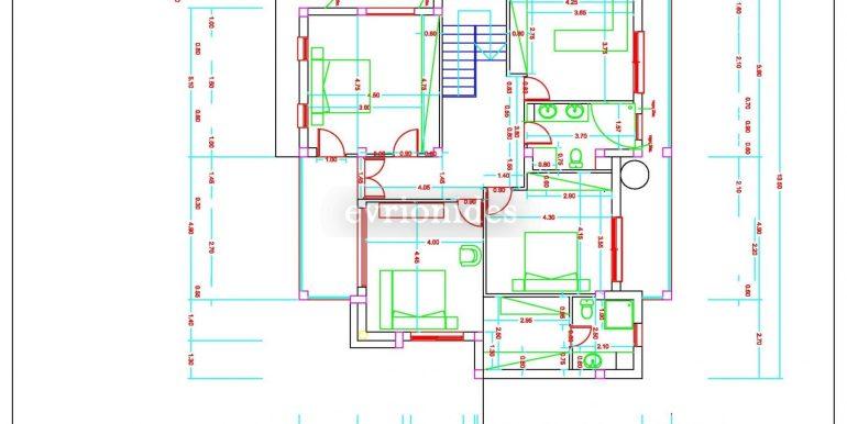 HOUSE FIRST FLOOR PLAN
