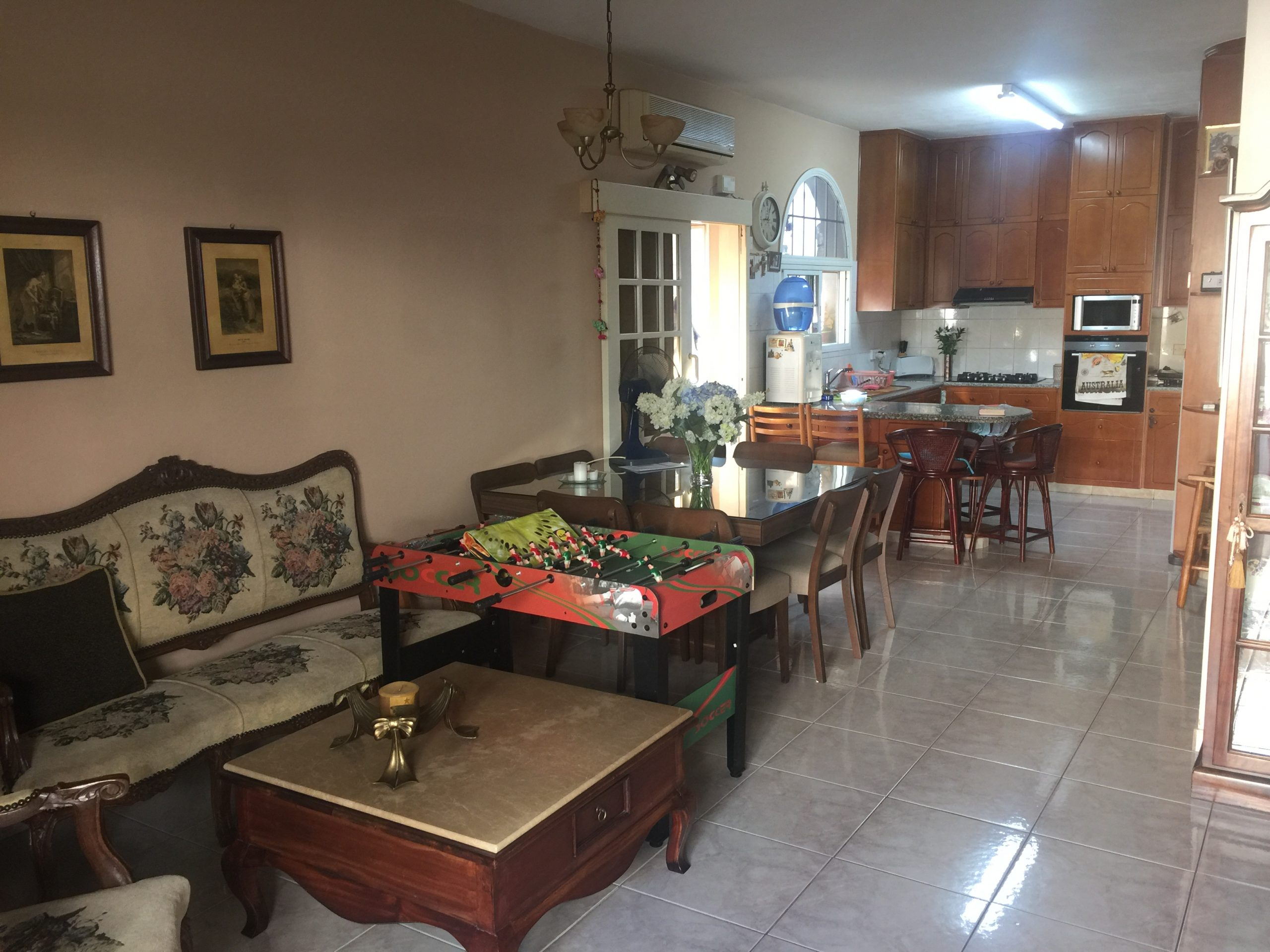 Ground floor house 3 bedroom with extra 2 rooms in Neapolis Limassol
