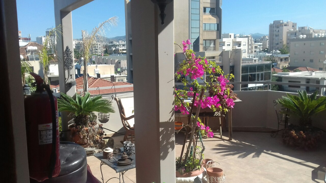 Huge luxury penthouse in Agia Zoni