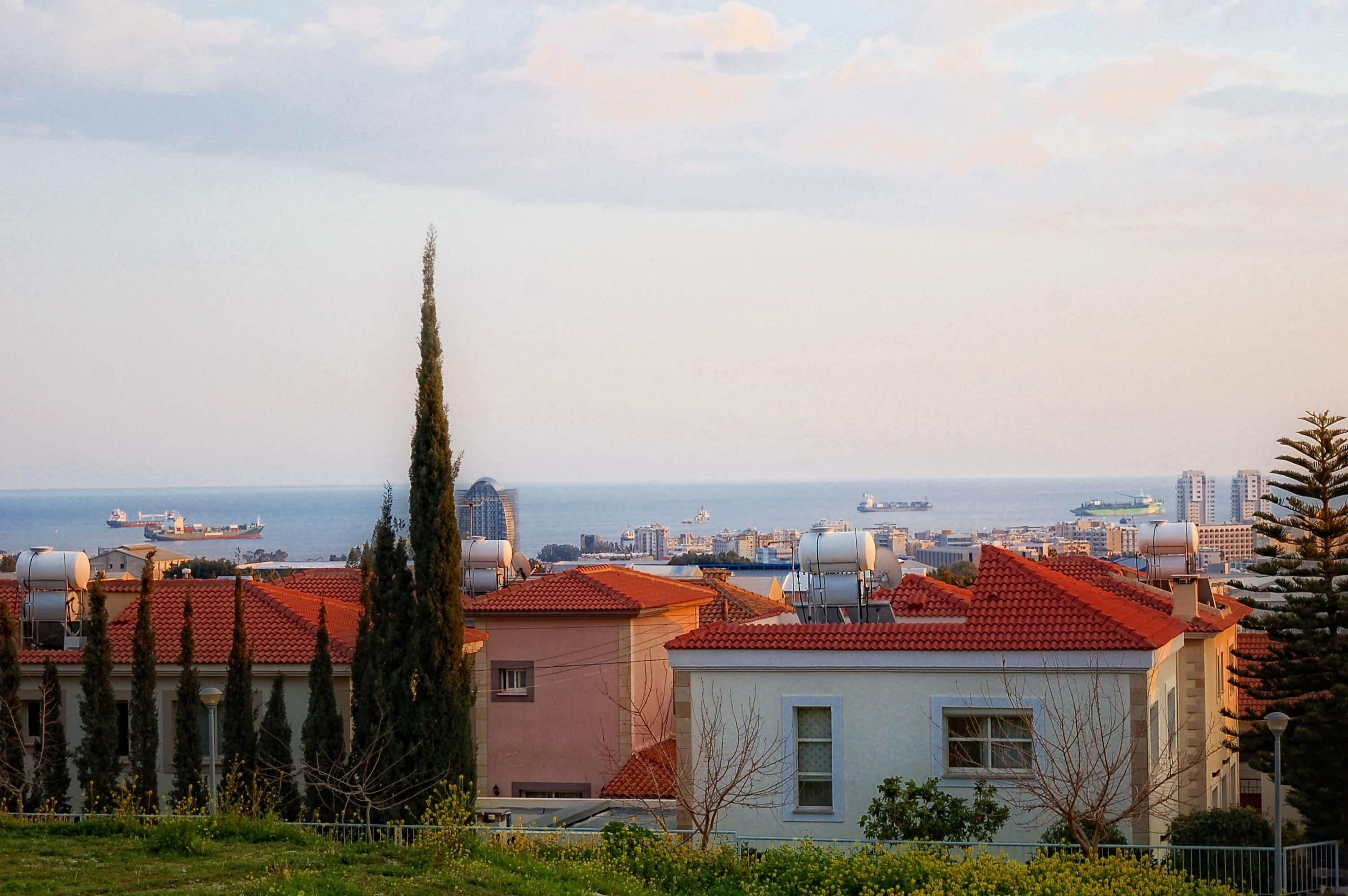 Amazing plot of land with sea view in agios athanasios