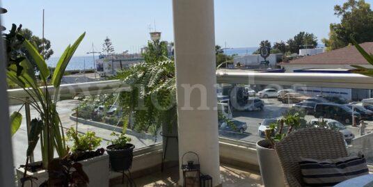 Sea view 2 bedroom flat  Near Crown Plaza Hotel in Limassol