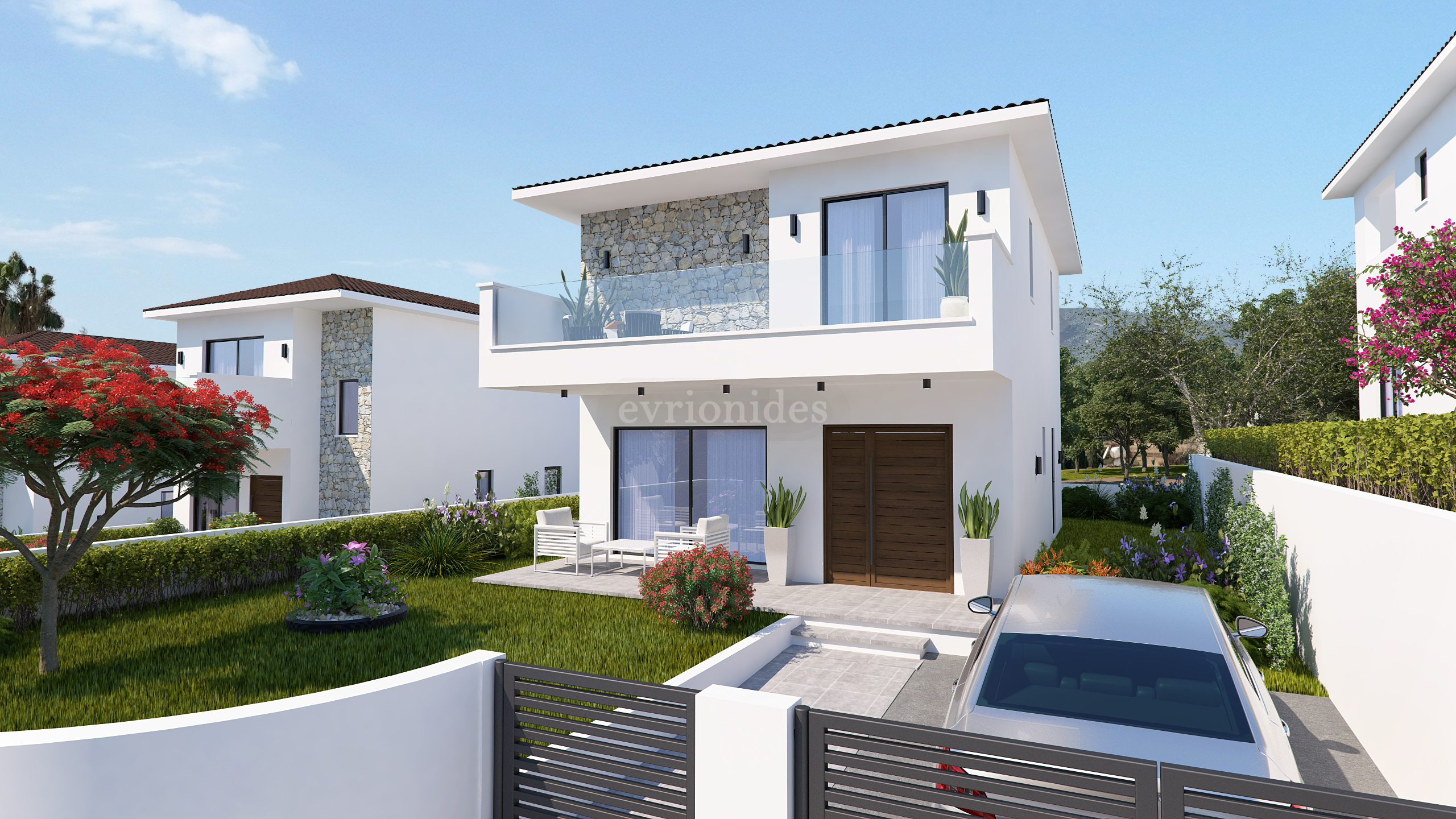 3 Bedroom Detached house in Pyrgos with garden and swimming pool