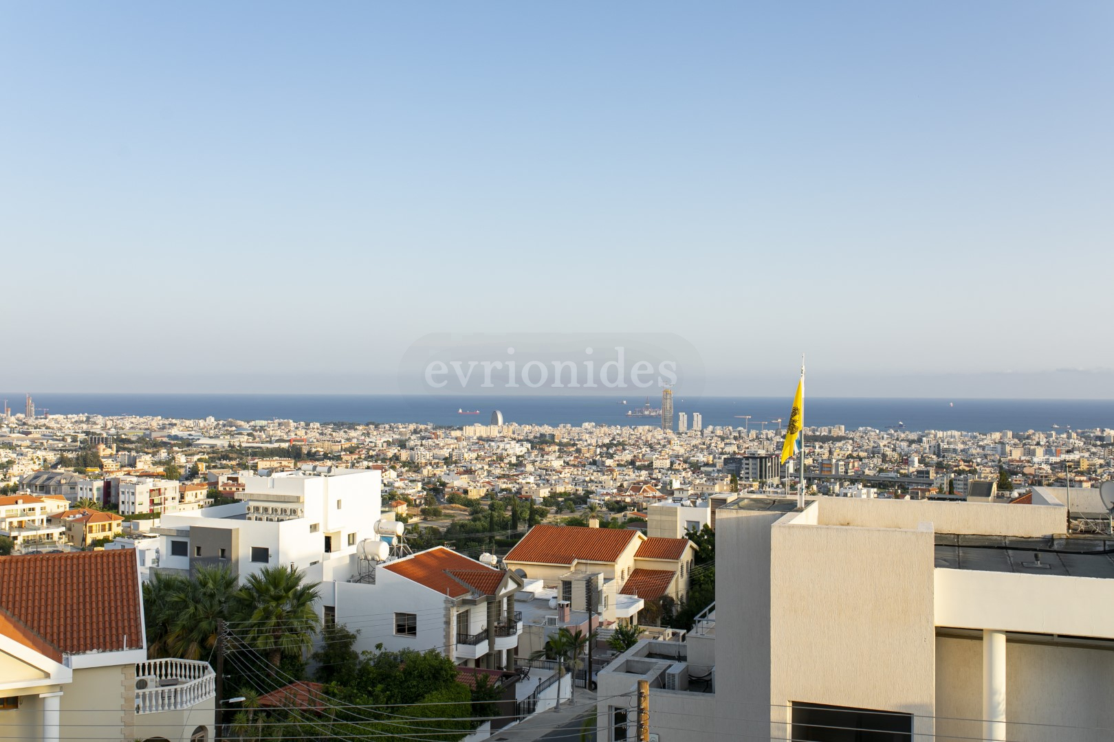 PENTHOUSE IN PANTHEA AREA WITH UNOBSTRUCTED SEA VIEW