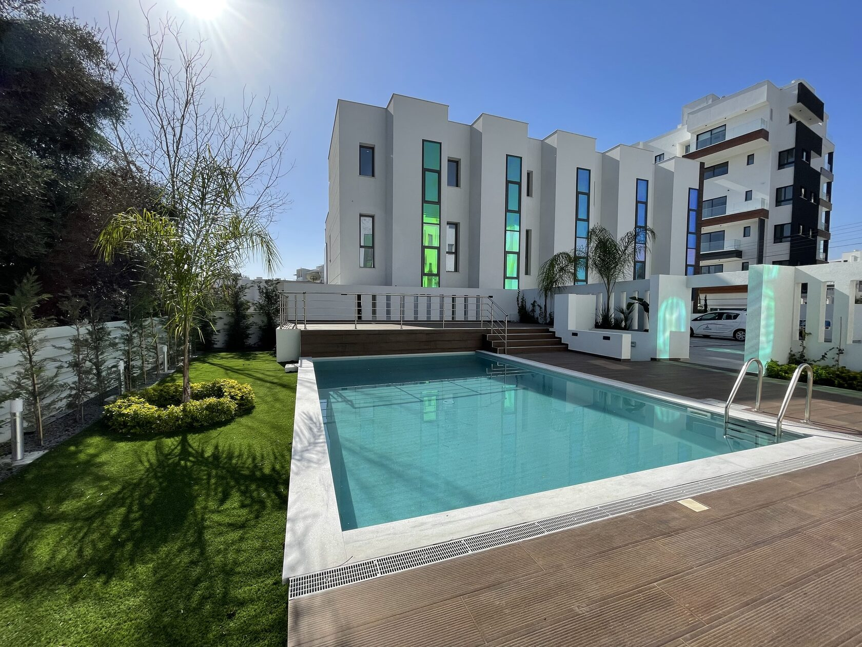 three bedroom three floors townhouse in the new secured complex